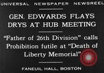 Image of Boston rally against alcohol prohibition Boston Massachusetts USA, 1930, second 11 stock footage video 65675050773