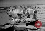 Image of soldiers Manila Philippines, 1941, second 9 stock footage video 65675050786