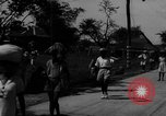 Image of Santo Tomas concentration camp Manila Philippines, 1945, second 7 stock footage video 65675050797