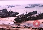 Image of establishment of beachhead Normandy France, 1944, second 3 stock footage video 65675050823