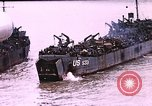 Image of establishment of beachhead Normandy France, 1944, second 8 stock footage video 65675050823