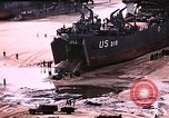Image of establishment of beachhead Normandy France, 1944, second 11 stock footage video 65675050823