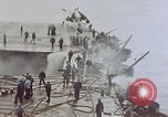 Image of Aftermath of kamikaze attack on USS Enterprise Pacific Ocean, 1945, second 5 stock footage video 65675050831