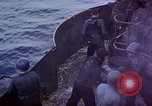Image of USS Bunker Hill aftermath of kamikaze attack Pacific Ocean, 1945, second 10 stock footage video 65675050833