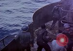 Image of USS Bunker Hill aftermath of kamikaze attack Pacific Ocean, 1945, second 11 stock footage video 65675050833