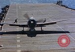 Image of aircraft Pacific Ocean, 1945, second 7 stock footage video 65675050840