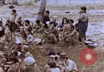 Image of Japanese prisoners and civilians Saipan Northern Mariana Islands, 1944, second 6 stock footage video 65675050875