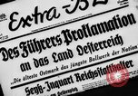 Image of German occupation Austria, 1938, second 4 stock footage video 65675050927