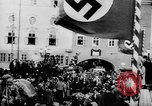 Image of German Anschluss occupation of cities Austria, 1938, second 2 stock footage video 65675050932