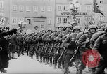 Image of German Anschluss occupation of cities Austria, 1938, second 7 stock footage video 65675050932