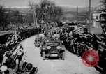 Image of Germans cross Austrian border in Anschluss World War 2 Austria, 1938, second 1 stock footage video 65675050938