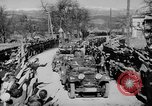 Image of Germans cross Austrian border in Anschluss World War 2 Austria, 1938, second 2 stock footage video 65675050938