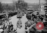 Image of Germans cross Austrian border in Anschluss World War 2 Austria, 1938, second 4 stock footage video 65675050938