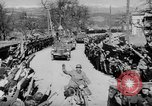 Image of Germans cross Austrian border in Anschluss World War 2 Austria, 1938, second 5 stock footage video 65675050938
