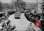 Image of Germans cross Austrian border in Anschluss World War 2 Austria, 1938, second 6 stock footage video 65675050938
