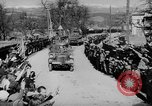 Image of Germans cross Austrian border in Anschluss World War 2 Austria, 1938, second 7 stock footage video 65675050938