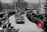 Image of Germans cross Austrian border in Anschluss World War 2 Austria, 1938, second 8 stock footage video 65675050938