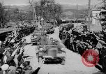 Image of Germans cross Austrian border in Anschluss World War 2 Austria, 1938, second 9 stock footage video 65675050938
