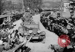 Image of Germans cross Austrian border in Anschluss World War 2 Austria, 1938, second 12 stock footage video 65675050938