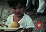 Image of Vietnamese refugees at Eglin Air Force Base dining hall United States USA, 1975, second 8 stock footage video 65675050948