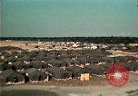 Image of Vietnamese refugee encampment in Florida Florida United States USA, 1975, second 4 stock footage video 65675050951
