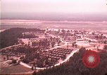 Image of aerial view of Vietnamese refugee camp at Eglin Air Force Base Florida United States USA, 1975, second 4 stock footage video 65675050956