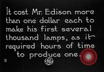 Image of Thomas Alva Edison Schenectady New York USA, 1923, second 3 stock footage video 65675050975