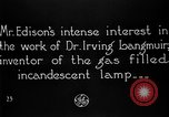 Image of Thomas Alva Edison United States USA, 1923, second 4 stock footage video 65675050977
