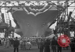 Image of USS Ranger Newport News Virginia USA, 1956, second 4 stock footage video 65675050998