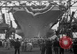 Image of USS Ranger Newport News Virginia USA, 1956, second 6 stock footage video 65675050998