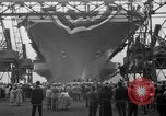 Image of USS Ranger Newport News Virginia USA, 1956, second 7 stock footage video 65675050998