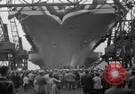 Image of USS Ranger Newport News Virginia USA, 1956, second 11 stock footage video 65675050998