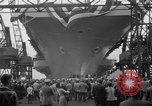 Image of USS Ranger Newport News Virginia USA, 1956, second 12 stock footage video 65675050998