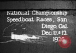 Image of speedboat race San Diego California USA, 1926, second 1 stock footage video 65675051034