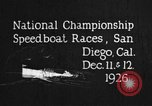 Image of speedboat race San Diego California USA, 1926, second 3 stock footage video 65675051034