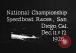 Image of speedboat race San Diego California USA, 1926, second 8 stock footage video 65675051034