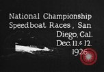 Image of speedboat race San Diego California USA, 1926, second 12 stock footage video 65675051034