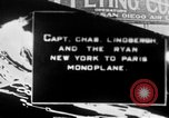Image of Spirit of Saint Louis monoplane United States USA, 1926, second 1 stock footage video 65675051040