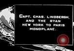 Image of Spirit of Saint Louis monoplane United States USA, 1926, second 4 stock footage video 65675051040