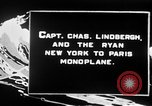 Image of Spirit of Saint Louis monoplane United States USA, 1926, second 9 stock footage video 65675051040
