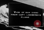 Image of Spirit of Saint Louis monoplane San Diego California USA, 1926, second 1 stock footage video 65675051041