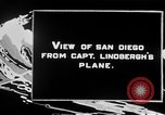Image of Spirit of Saint Louis monoplane San Diego California USA, 1926, second 2 stock footage video 65675051041
