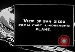 Image of Spirit of Saint Louis monoplane San Diego California USA, 1926, second 3 stock footage video 65675051041