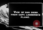 Image of Spirit of Saint Louis monoplane San Diego California USA, 1926, second 4 stock footage video 65675051041