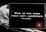 Image of Spirit of Saint Louis monoplane San Diego California USA, 1926, second 7 stock footage video 65675051041