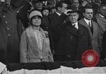 Image of President and Mrs. Calvin Coolidge at baseball game Washington DC USA, 1927, second 2 stock footage video 65675051047