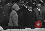 Image of President and Mrs. Calvin Coolidge at baseball game Washington DC USA, 1927, second 7 stock footage video 65675051047