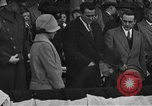 Image of President and Mrs. Calvin Coolidge at baseball game Washington DC USA, 1927, second 10 stock footage video 65675051047