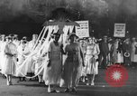 Image of Anti war marchers support disarmament United States USA, 1921, second 2 stock footage video 65675051090
