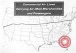 Image of animated map United States USA, 1924, second 3 stock footage video 65675051107